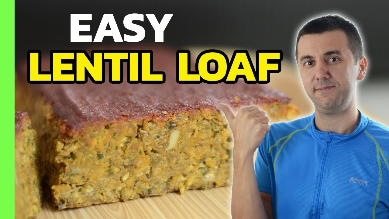Easy Lentil Loaf (with Quick BBQ Sauce)