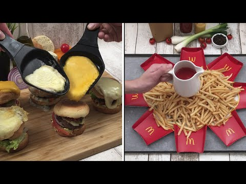 Time for some good fast-food 🍔 Over-the-Top French Fries 🍟 Grilled Cheese Pizza 🍕 and more Chefclub