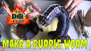 Diy Purple Worm Model Cheap/easy (the Dm's Craft, Ep 73)