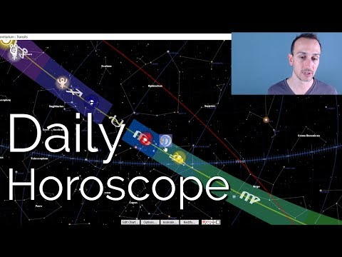 Daily Horoscope Thursday February 8th, 2018 - True Sidereal Astrology