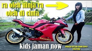 kumpulan ninja 250 cc modifikasi ceper cocok buat kidz jaman now 2018