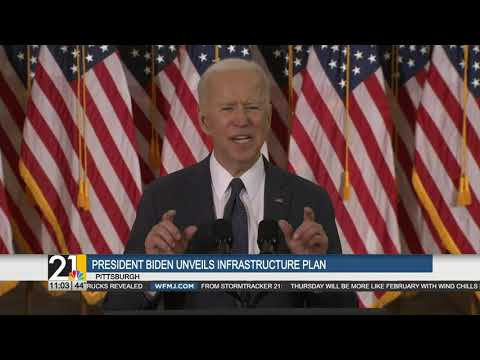 Ohio and PA lawmakers react to Biden's infrastructure plan