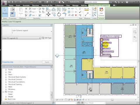 Revit Architecture - Area and Space Planning