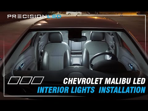 Chevrolet Malibu LED Interior Lights How To Install - 8th Generation - 2013+
