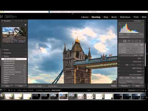 Digital Photography Quick Tips - Getting rid of dust spots in Lightroom 5