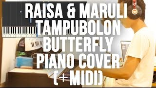 Raisa & Maruli Tampubolon - Butterfly (ost. Terjebak Nostalgia) Piano Cover