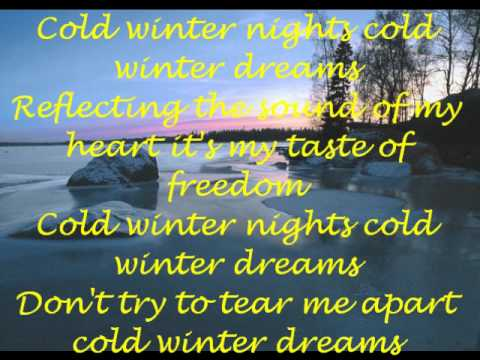 accept winter dreams lyrics youtube