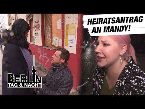 Berlin  Tag & Nacht  Basti macht Mandy einen Antrag! #1644  RTL II