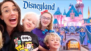 SURPRISING MY FAMILY WITH DISNEYLAND!