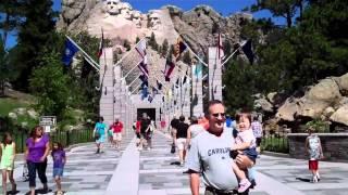 Mt Rushmore :: Гора Рашмор(Mount Rushmore National Memorial South Dakota. Национальный мемориал Гора Рашмор в Южной Дакоте, США., 2011-07-24T04:28:27.000Z)