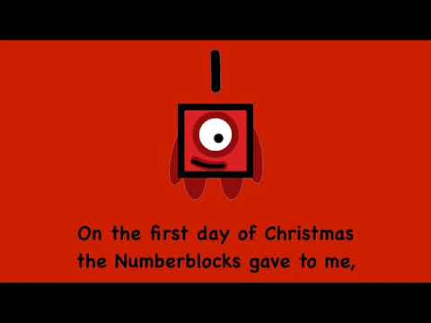 12 Days of Christmas Numberblocks Edition (CHRISTMAS SPECIAL)