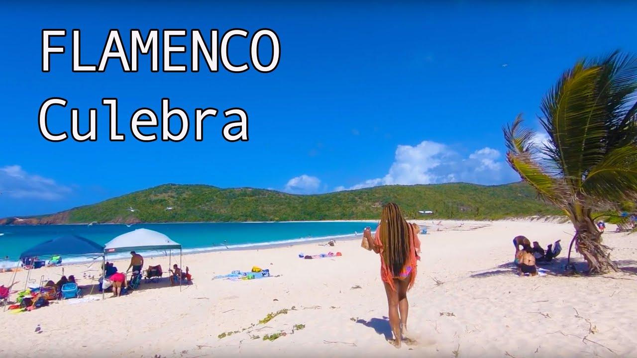 Puerto Rico Flamenco Beach In Culebra