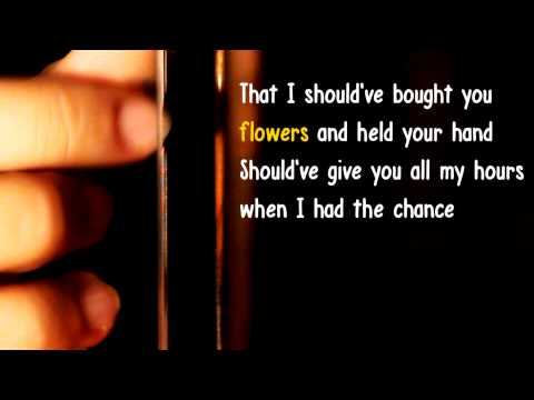 When i was your man - Bruno Mars - Karaoke Acoustic guitar