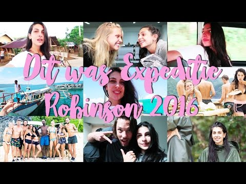 ZO ZAG IK ERUIT NA EXPEDITIE ROBINSON 2016 - RECAP - Anna Nooshin