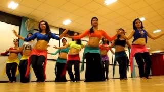 Belly dance fusion choreography by Tarantismo Creative Dance Company (Kal Ho Na Ho - Shahrukh Khan)