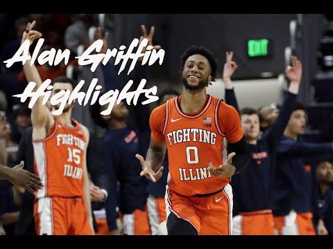Alan Griffin Season Highlights 2019-20 Illinois Fighting Illini Basketball