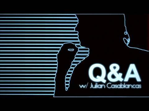 Q & A with JULIAN CASABLANCAS, AUG 2009