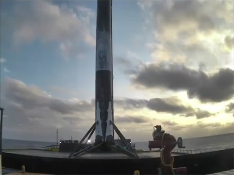 SpaceX Falcon 9 landing, 30 March 2017