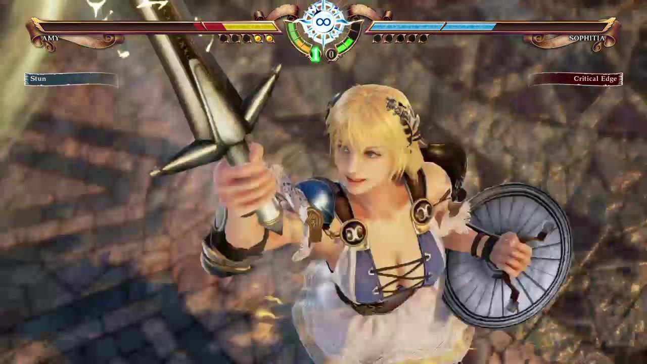 Soulcalibur VI - Mitsurugi and Sophitia Screenshots