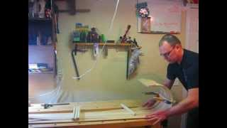 Making A Wooden Toboggan :  Part 2