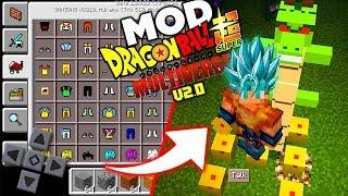 SAIU! O MELHOR MOD DRAGON BLOCK MULTIVERSE PARA MINECRAFT PE ! - (Minecraft Pocket Edition)