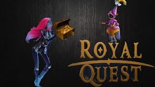 Заработок 700к золота на локации тодано за час без премиума в Royal Quest.