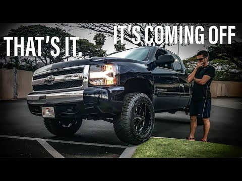 """3.5"""" Rough Country Lift - Silverado - IT'S TIME TO GO"""