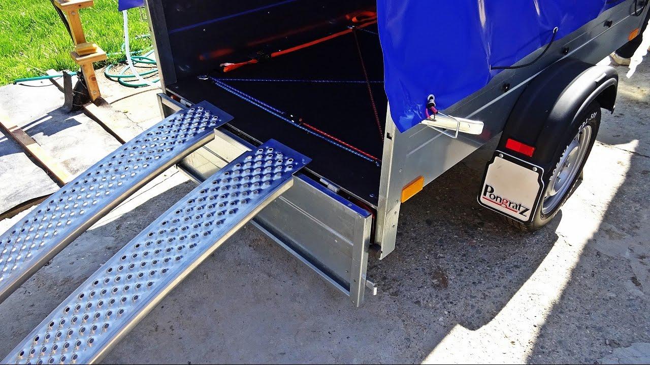remorca auto rampe presuri noroi pene de fixare si diverse lucruri utile youtube