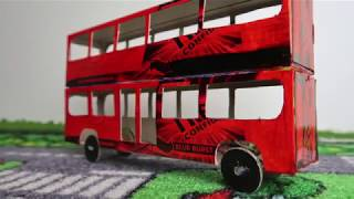 How to make a bus at home - easy colgate bus
