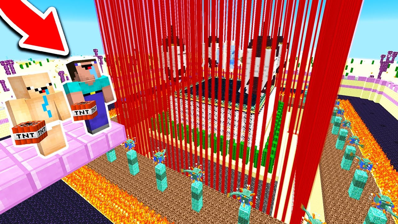 Breaking Into The World U0026 39 S Most Protected Minecraft House