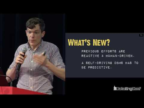 Peloton: The Self-Driving Database Management System by Andy Pavlo | DataEngConf NYC '16