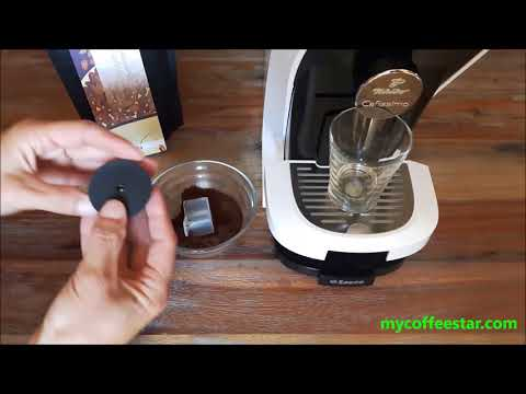 reusable coffee capsule TCHIBO CAFISSIMO CAFFITALY