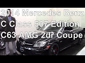 2014 Mercedes Benz C Class507 Edition C63 AMG 2dr Coupe