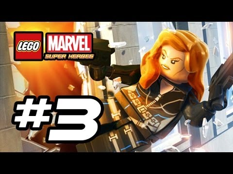 LEGO Marvel Super Heroes Gameplay Walkthrough - Part 3 - SPIDERS AND ARROWS! (Lego Gameplay HD)