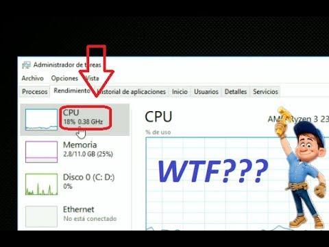 Procesador se queda en 0.38Ghz   Arreglando Bugs de Windows   HP Pavilion 15-cw0007la
