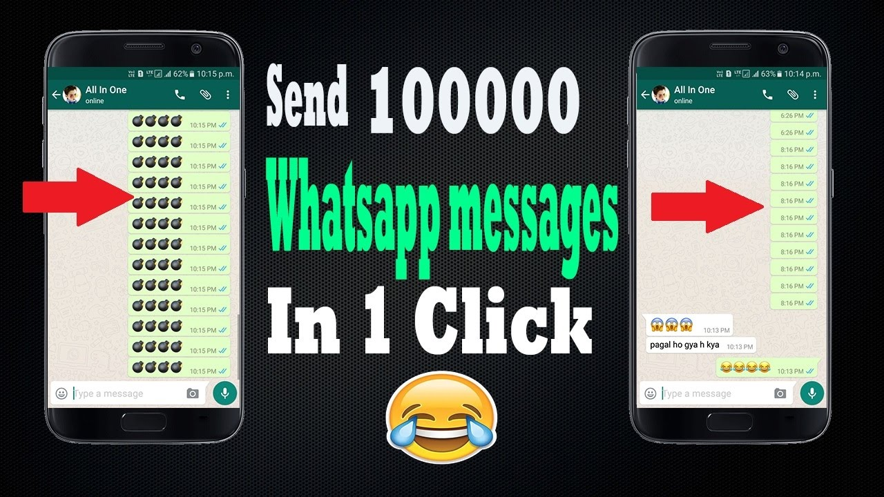 How To Send 100000 Whatsapp Messages At Once With Just 1 Click 😎😎😎