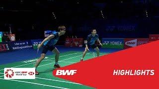 YONEX All England Open | WD Finals Highlights | BWF 2019