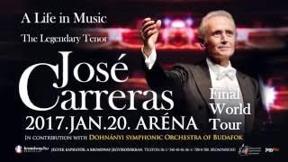José Carreras 2017 - José Carreras Koncert: 2017 Január 20. ARÉNA