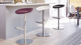 Modern Colourful Gas Lift Barstools