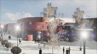 Gällivares nya is- och evenemangsarena