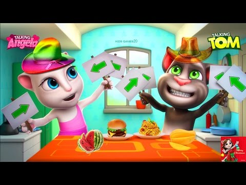 My Talking Tom VS My Talking Angela Gameplay | Great Makeover For Children HD