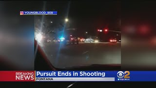 Wild Police Chase Ends In Deputy-Involved Shooting