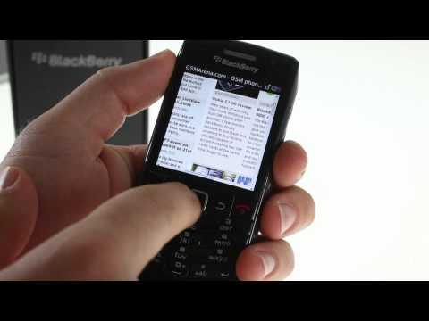 Unboxing the BlackBerry Pearl 3G 9105