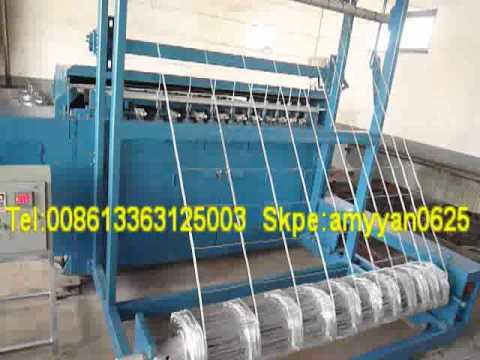 Full automatic Grassland Field Fence Weaving Machine/Cattle Fence ...