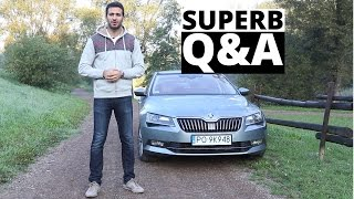 Skoda Superb 1.4 TSI 150 KM, 2015 - Q&A - Zachar OFF