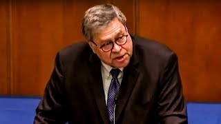 Bill Barr Proves He's The REAL Evil Genius Behind Donald Trump