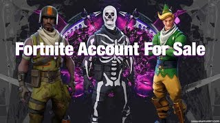 Fortnite Account For Sale Includes Aerial Assualt Trooper + Other ( OG SKINS ) Rare Account!