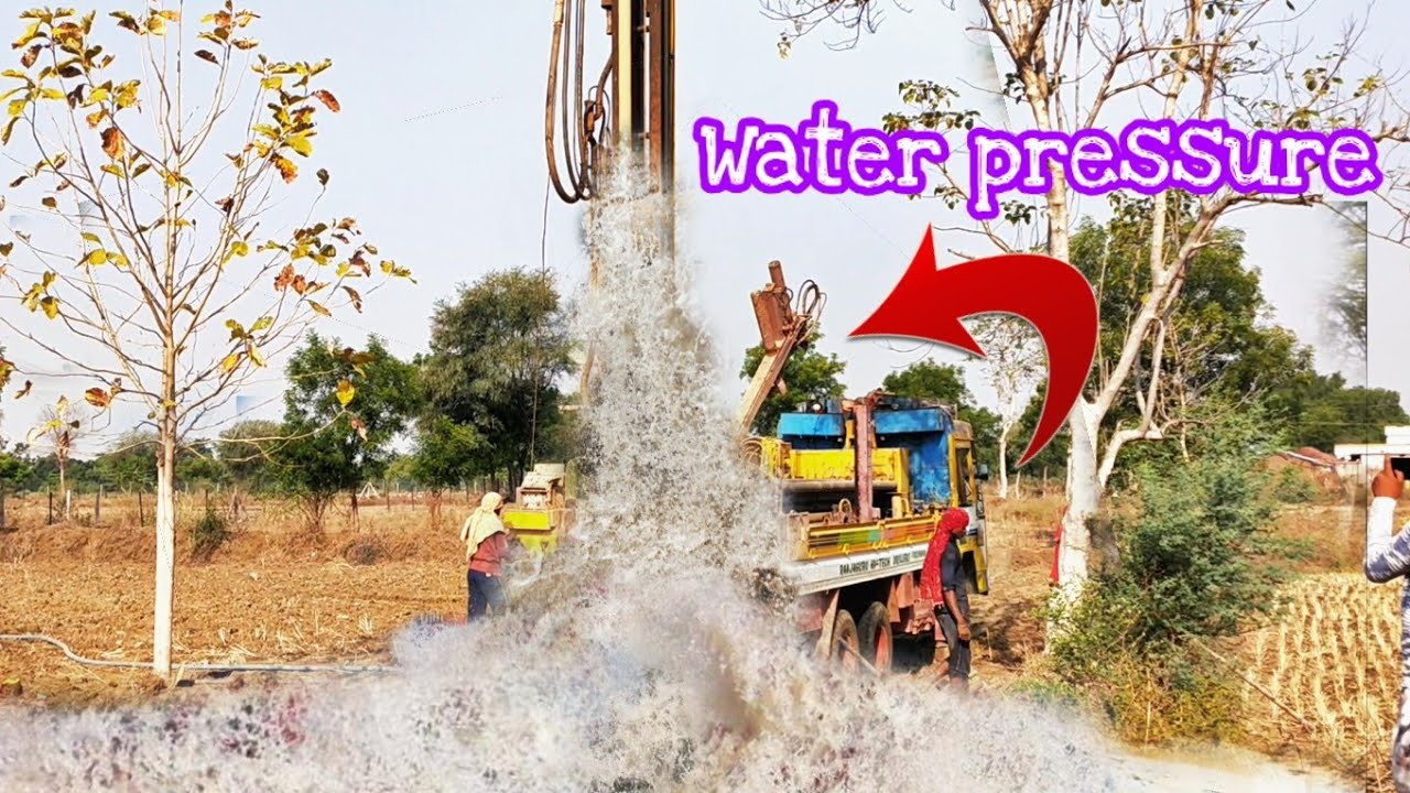 Borewell Drilling Water Pressure Drilling Rigs In India