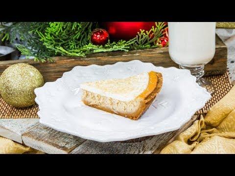 Eggnog Cheesecake Pie - Home & Family