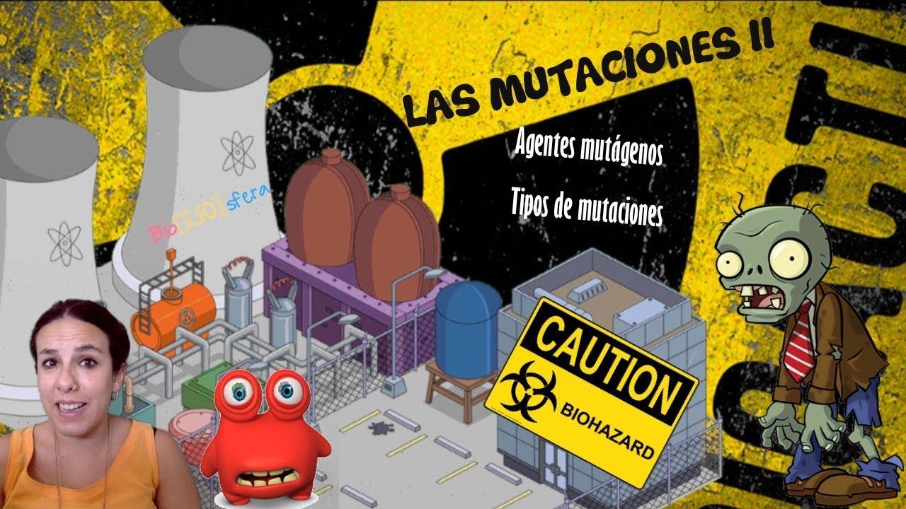 Las mutaciones (Parte II). Agentes mutágenos y efectos de las mutaciones - Genética - Bio[ESO]sfera
